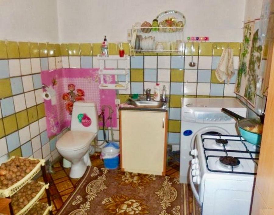 Туалет на кухне. Ликвидность квартиры с перепланировкой