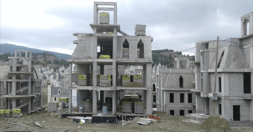 заброшенные замки Турции - реальность