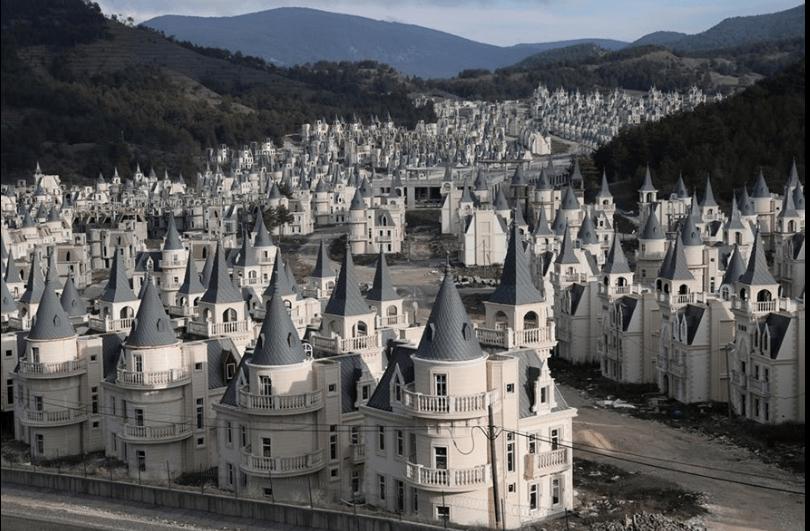 Заброшенные замки Турции